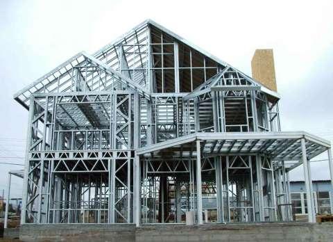 سازه فولادی سرد نورد شده (سیستم LSF )