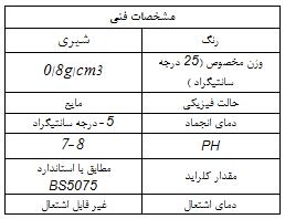 مشخصات فنی کیورینگ پایه آب