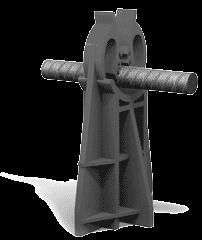 اسپیسر و قطعات جانبی بتن